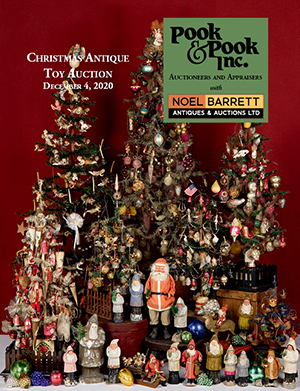 Christmas Antique Toy Auction catalog
